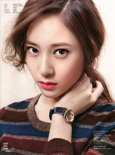 Jung SooJung (born October better known by Krystal, is an American and South Korean singer and actress based in South Korea.