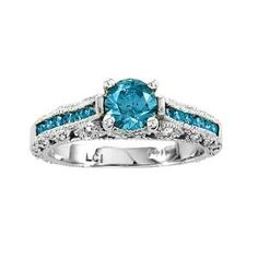 Blue diamond engagement rings are beautiful and unique. You can't help but notice a blue diamond engagement ring on a woman's finger. Best Diamond, Diamond Rings, Diamond Engagement Rings, Gemstone Rings, Colored Diamonds, Blue Diamonds, Fashion Rings, Jewelry Rings, Jewellery