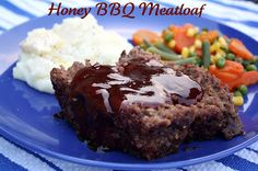 Honey BBQ Meatloaf - i've been debating meatloaf for a while now... this may be the recipe i finally try