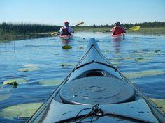 A peaceful kayak outing in Door County. www.doorcounty.com  (Capture Door County photo by Chuck Germain)