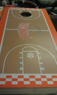 tennessee vols football stadium corn hole boards   Rocky Top ...
