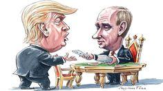 FT: Πώς ο Ντόναλντ Τραμπ έπαιξε το παιχνίδι του Βλαντιμίρ Πούτιν ~ Geopolitics & Daily News