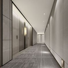 Hallway lighting for an office  | City Lighting Products | Commercial Lighting | www.facebook.com/CityLightingProducts