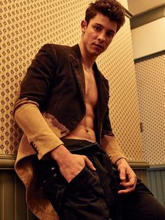 """Unreleased photo from """"L'uomo Vogue Magazine"""" Italy -Shawn Mendes"""