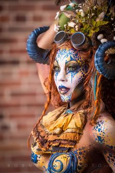 Definitely the best make up I've ever seen. Took this earlier today with @500px #500pxcircus