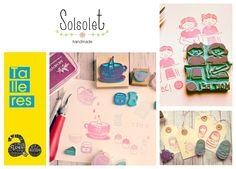Taller Carvado de sellos. #solsolet. II Jornadas de artesanía y diseño 2014