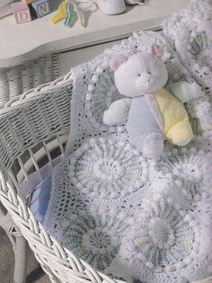 Baby Afghan Crochet Patterns for New Arrivals 5 by PaperButtercup