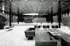 Architecture, Design, Eero Saarinen, Interior Design