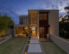 A House in Australia  Street Facade