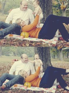 Fall family photo session // with The Sweeter Side of Mommyhood // matte vintage photo effect.