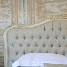 Make My Own Headboard works because it is all the same style. interesting tension comes