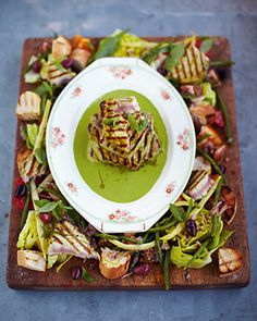 griddled tuna kinda nicoise salad - Jamie Oliver 15 min meals