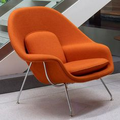 Eero Saerinen Womb Chair by manhattanhomedesign, via Flickr