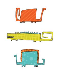 Kellie Bloxsom-Rys - Art and Illustration: Illustration-o-saurus Kids Prints, Art Prints, Dinosaur Projects, Monthly Baby Photos, Dinosaur Illustration, Dinosaur Drawing, Kids Graphics, Animal Graphic, Quilt Block Patterns