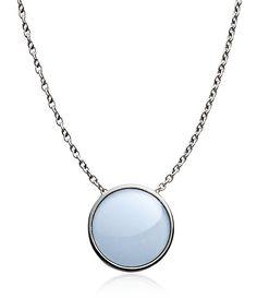 Skagen Women's Silver Pendant Necklace SKJ1053040 LKBIUpQeDH