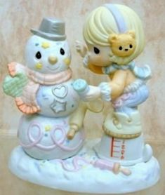 """""""Sprinkled In Sweetness"""" Precious Moments Quotes, Precious Moments Figurines, Christmas Decorations, Christmas Ornaments, Gadgets And Gizmos, Collectible Figurines, My Precious, Childhood Memories, Sprinkles"""