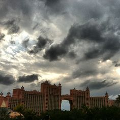Even storms are beautiful in Nassau Paradise Island, The Bahamas