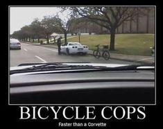 Cops Humor, Police Humor, Bike Humor, Police Officer, Cop Jokes, Chevy Jokes, Funny Picture Jokes, Funny Pictures, Funny Stuff