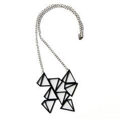 Pyramid Necklace now featured on Fab.