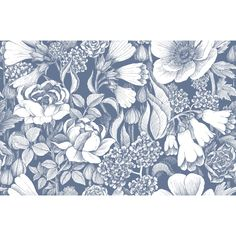 """You'll love the Volume 4 Oodi 33' x 21"""" Floral and Botaincal Wallpaper at Wayfair - Great Deals on all Décor  products with Free Shipping on most stuff, even the big stuff."""