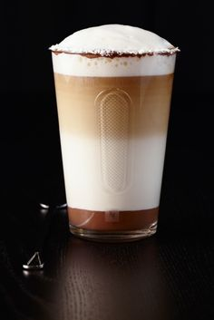 Cioco-Coco Latte Macchiato with NESPRESSO Ciocattino.   View full recipe here: http://j.mp/13vEUcx