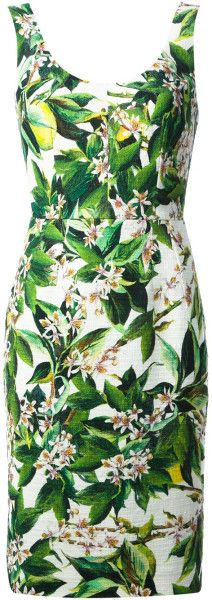 Love this: Woven Floral Dress @Lyst