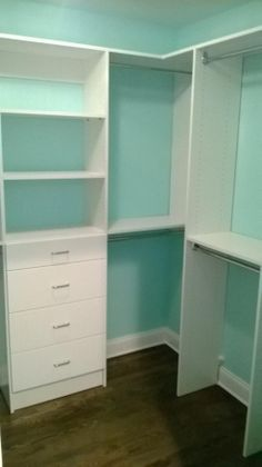 Walk in closet Tampa,FL. #walkincloset #customcloset
