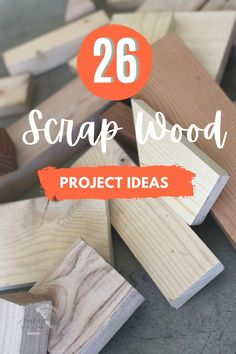 Love these! Great collection of easy DIY scrap wood projects and ideas! Small projects that are fun to make. Make organization, home decor, storage. These simple projects are perfect for beginner woodworking! #AnikasDIYLife #scrapwood #woodworking #woodworkingproject Diy Projects Using Wood, Easy Small Wood Projects, Wood Projects For Beginners, Scrap Wood Projects, Wood Working For Beginners, Cool Diy Projects, Project Ideas, Kreg Jig Projects, Woodworking Projects That Sell