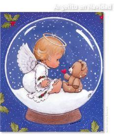 Ruth Morehead Christmas | ANGEL DE NAVIDAD Ruth Morehead CHRISTMAS CARDS TARJETAS DE NAVIDAD ...
