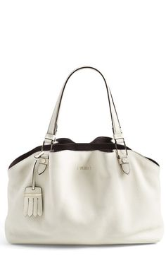 Tod's+'Flower'+Leather+Tote+available+at+#Nordstrom