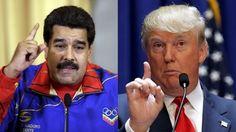 """Maduro: """"saca tus manos de aquí Donald Trump. Go home, Donald Trump"""""""