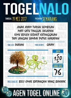 Paito JP 2D Togel Wap Online TogelNalo Semarang 19 Mei 2017