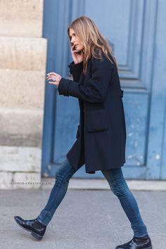 Malgosia Bela - Paris Fashion Week Fall 2014 Street Style find more women fashion on www.misspool.com: