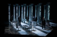 All the Way. Alley  Theatre/ Dallas Theater Center. Scenic design by Beowulf…