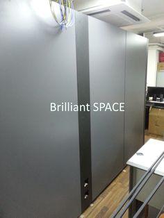 Glass System Wall 黃竹坑IT公司 (雙面板不上頂屏風) 8