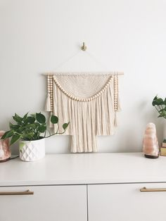 Excited to share the latest addition to my #etsy shop: XL Macramé Wall Hanging with Wood Beads and Cotton Tassels   Nursery Wall Decor   Wedding Backdrop Wedding Wall Decorations, Decor Wedding, Neutral Walls, Nursery Wall Decor, Beautiful Wall, Home Decor Inspiration, Tassels, Backdrops, Etsy Shop