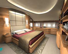 Boeing 787 VIP interior:  better than Virgin Upperclass?