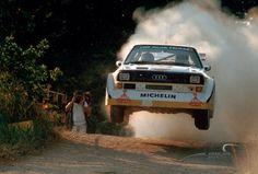 1985 Rallye San Remo Walter Rohrl Audi Sport Quattro S1 E2