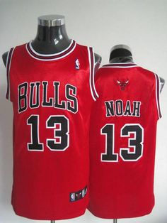 3ddd232a572 Bulls  13 Joakim Noah Stitched Red NBA Jersey Cheap Nba Jerseys