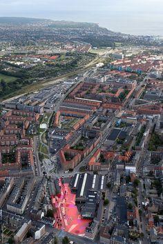 "Superkilen, Europe's Strangest Public Park - reflects the diversity of a neighborhood made up of people from 60 nationalities (CNN article: http://www.cnn.com/2014/10/06/travel/copenhagen-surreal-park/index.html ) | ""Superkilen"" | Architects: Topotek 1 + BIG Architects + Superflex | Location: Nørrebro, Copenhagen, Denmark | Photographs: Iwan Baan, Hasse Ferrold, Jens Lindhe, Maria da Schio, Torben Eskerod, Mike Magnussen"