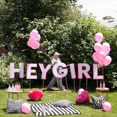Hey Girl- have yourself a pink party this summer!