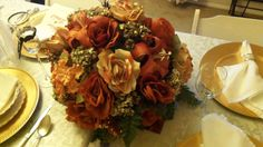 Unique #Fall Wedding Flower Centerpiece