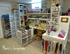 Scraproom: Not for lampwork of course, but love this for crafting/jewelry area.