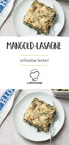 Mangold-Lasagne Incredibly delicious: If you have never tried a chard lasagna, you absolutely have to do it now! The fine vegetables taste so good between the pasta plates, you will be amazed! Easy Lasagna Recipe, Lasagna Recipes, Homemade Baby Foods, Le Diner, Eating Organic, Vegetable Drinks, Healthy Eating Tips, Healthy Foods, Organic Recipes