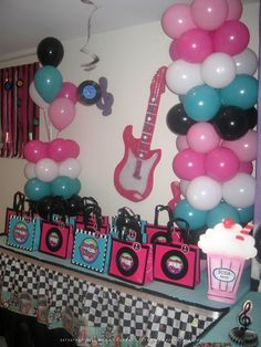 "Photo 1 of 21: Sock Hop 50'S Theme diner / Birthday ""Sock Hop 50's Diner"" 