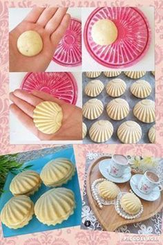 Ingredients: 2 cups of ghee . A cup of soft sugar. Ingredients: 2 cups of ghee . A cup of soft sugar. Pistachios for decorating or any kind of nuts Yummy Cookies, Cake Cookies, Shortbread Cookies, Cupcakes, Cookie Recipes, Dessert Recipes, Bread Shaping, Italian Cookies, Creative Food