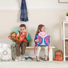 Send your littlest animal lover off with one of the super cute new backpacks for kids from mom-favorite brand Skip*Hop. Of course, we vote for the hedgehog. Pre School, Back To School, Boys Lunch Bags, Skip Hop Zoo, Kindergarten, Cool Mom Picks, Travel Necessities, School Readiness, Cool Backpacks