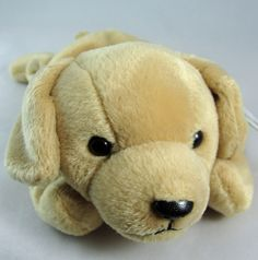 0115710cd43 Ty Beanie Baby FETCH Labrador Retreiver Puppy Dog 8.5