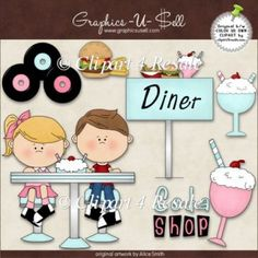Great site for SVG files - Happy Days SVG 50's svg 50's clipart ...