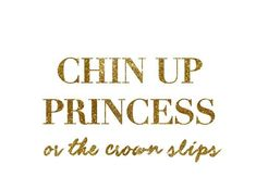 Excited to share the latest addition to my #etsy shop: Chin Up Princess | Gold Wall Stickers | Baby Nursery | Kids Room | Trendy Vinyl | Removable Custom Wall Decal  #housewares #homedecor #housewarming #bedroom #homeandliving #decor #nursery